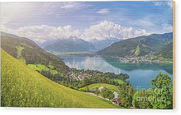 Zell Am See - Alpine Beauty Wood Print
