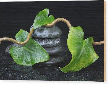Zen... Wood Print