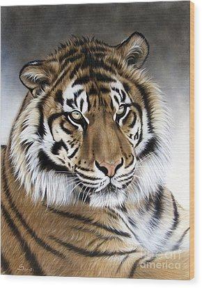 ZEN Wood Print by Sandi Baker