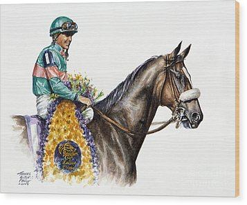 Zenyatta Wood Print by Thomas Allen Pauly