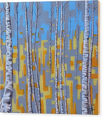 Zhivago Wood Print by Tara Hutton