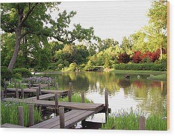 Zig Zag Bridge 2703 H_2 Wood Print