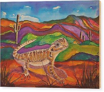Ziggy Wood Print by Dale Bernard