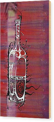 Zinfandel Wood Print by John Benko