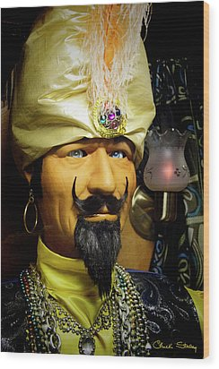 Wood Print featuring the photograph Zoltar by Chuck Staley