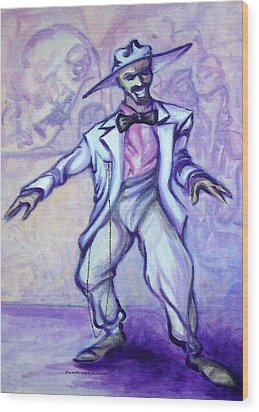 Zoot Suit Wood Print by Kevin Middleton