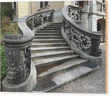 Zurich - Villa Patumbah Wood Print