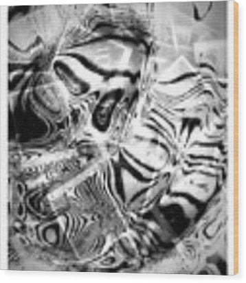 Africa Wood Print by Visual Artist Frank Bonilla