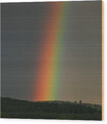 Spectrum Wood Print by Julian Perry