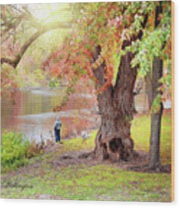 Autumn Wood Print by Jill Wellington