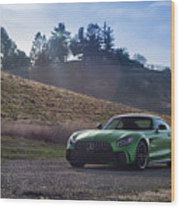 #mercedes #amg #gtr #print Wood Print by ItzKirb Photography