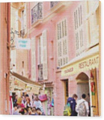 France Wood Print by Jill Wellington