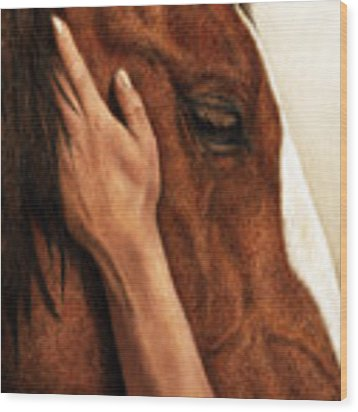 A Quiet Moment Wood Print by Pat Erickson