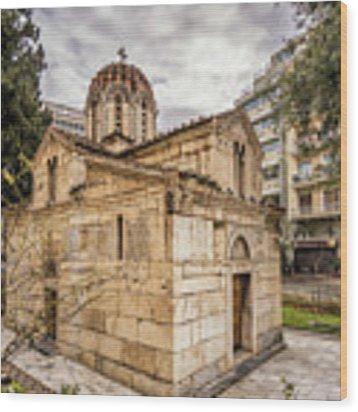 Agios Eleftherios Church Wood Print by James Billings
