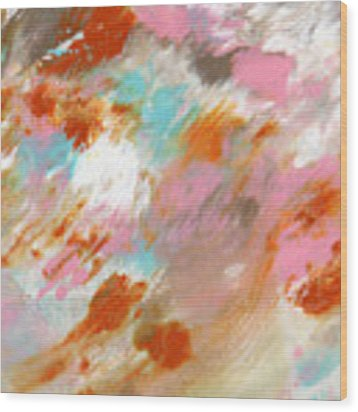 Ambrosia- Abstract Art By Linda Woods Wood Print by Linda Woods