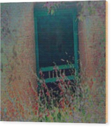 Augustines Door Wood Print by Kate Word