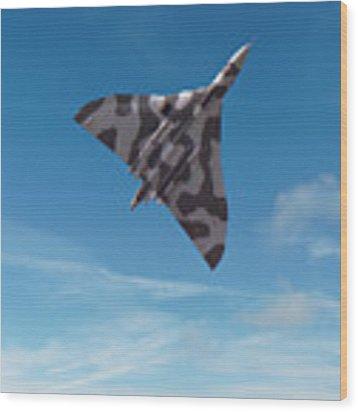 Avro Vulcan -1 Wood Print by Paul Gulliver