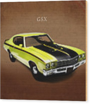 Buick Gsx 1971 Wood Print