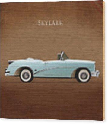 Buick Skylark 1954 Wood Print