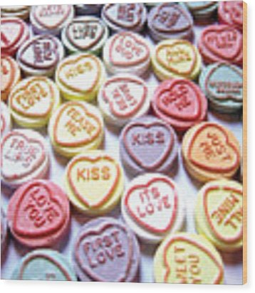 Candy Love Photography Wood Print