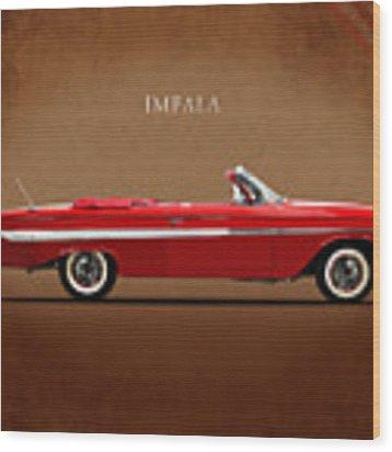 Chevrolet Impala Ss 409 Wood Print