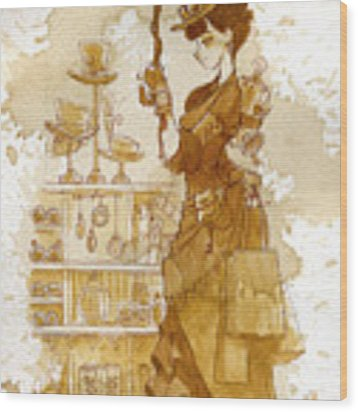 Couture Wood Print