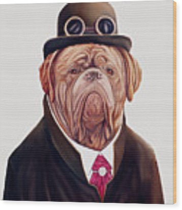 Dogue De Bordeaux Wood Print