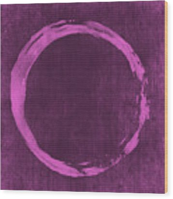 Enso 4 Wood Print
