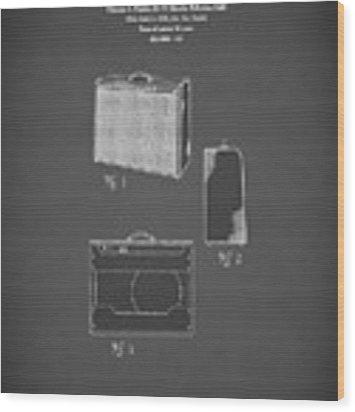 Fender Amp 1962 Wood Print by Mark Rogan