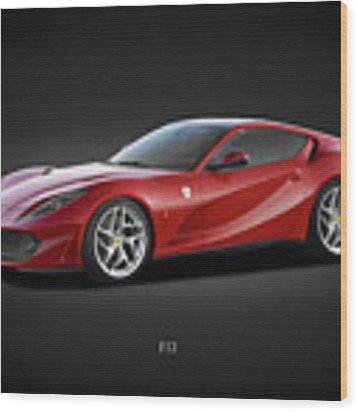 Ferrari F12 Wood Print