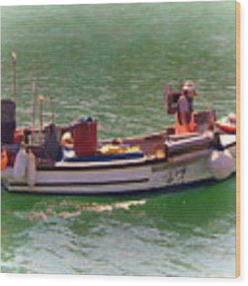 Fishing Vessel  Wood Print by Paul Gulliver