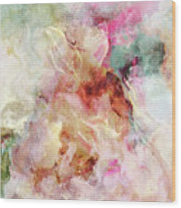 Floral Wings - Abstract Art Wood Print by Jaison Cianelli