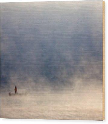 Fog Wood Print