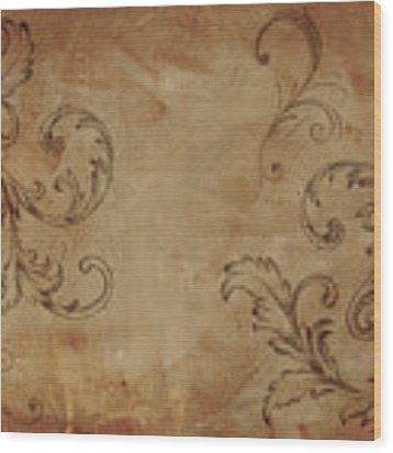 French Scrolls Wood Print by Jocelyn Friis