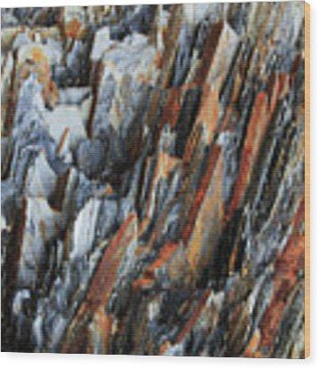 Geologica IIi Wood Print by Julian Perry