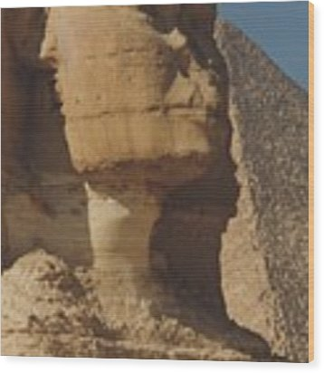 Great Sphinx Of Giza Wood Print by Travel Pics