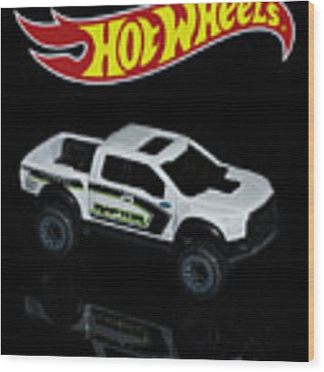 Hot Wheels Ford F-150 Raptor Wood Print by James Sage
