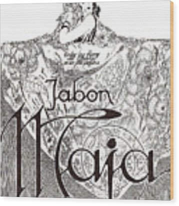 Jabon Wood Print by ReInVintaged