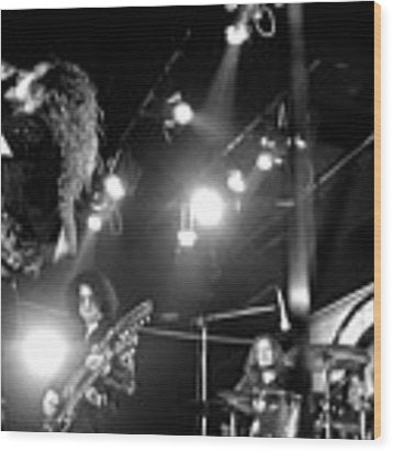 Led Zeppelin 1972 Wood Print