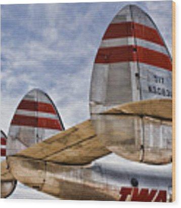 Lockheed Constellation Wood Print