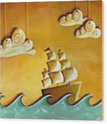 Lullaby Bay Wood Print