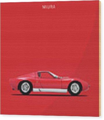 Miura 69 Wood Print by Mark Rogan