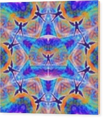 Mystic Universe Kk 15 Wood Print by Derek Gedney