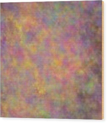 Nebula Wood Print by Writermore Arts