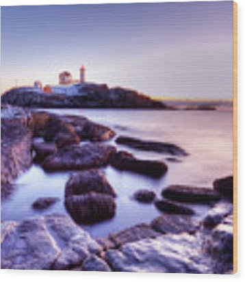 Nubble In The Morning Wood Print by Chris Babcock