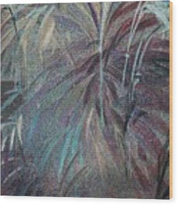 Rush Wood Print by Writermore Arts