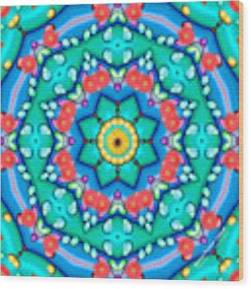 Spring Dreams 1022k8 Wood Print by Brian Gryphon