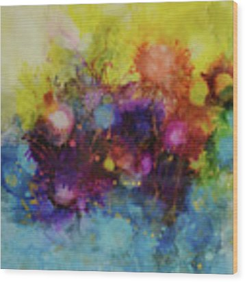 Spring Into Summer Wood Print by Kate Word