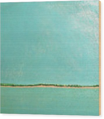 Subtle Atmosphere - Triptych 1 Of 3 Wood Print by Jaison Cianelli
