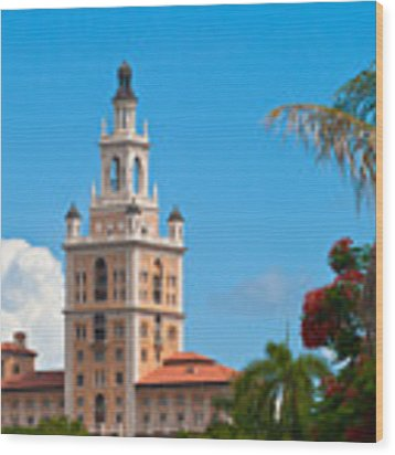 The Coral Gables Biltmore Wood Print by Ed Gleichman